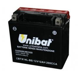 Batéria bezúdržbová Unibat CBTX16-BS, 12V 14Ah