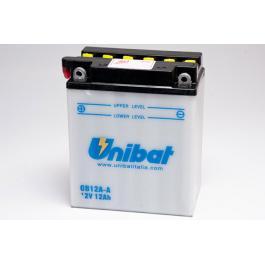 Batérie štandard Unibat CB12A-A, 12V 12Ah