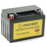 Bezúdržbová gélová batéria Moretti MT12-BS, 12V 9,5Ah