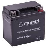 Bezúdržbová gélová batéria Moretti MTX5L-BS, 12V 5Ah