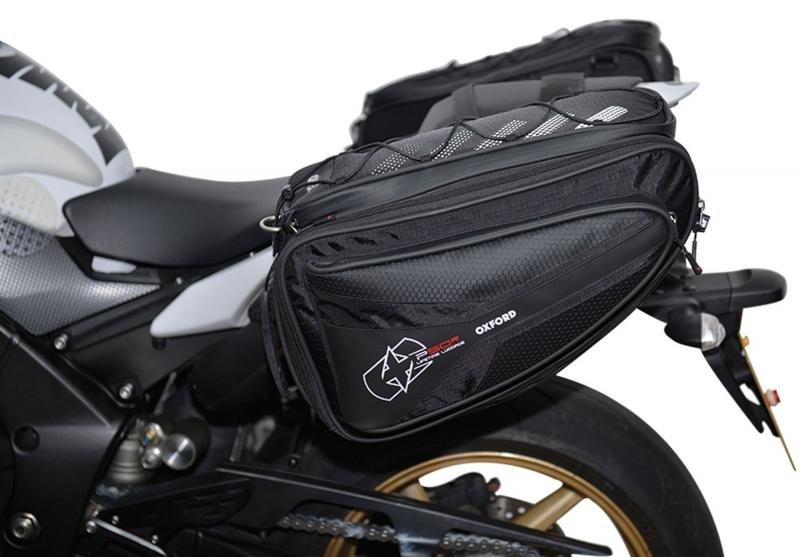 d7613d699dd09 Bočné brašne na motocykel Oxford P50R čierne | Moto-oblecenie.sk