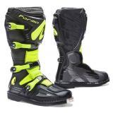 Topánky na motorku Forma Terrain EVO čierno-fluo žlté