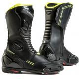 Topánky na motorku Rebelhorn Trip ST CE čierno-fluo žlté