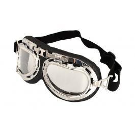 Okuliare na moto RSA Style chróm