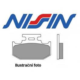 Brzdové doštičky predné Nissin 2p300 ST