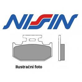 Brzdové doštičky zadné Nissin 2p320 ST výpredaj