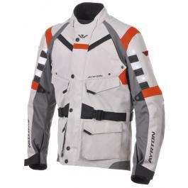Bunda na moto Ayrton Fuel šedo-oranžová výpredaj