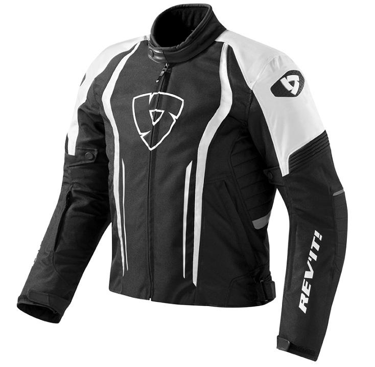 ad9d37ea6 Bunda na moto Revit Shield čierno-biela vypredaj výpredaj | Moto ...