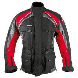 Bunda na motorku Roleff Liverpool čierno-červená
