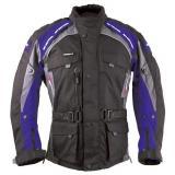 Bunda na motorku Roleff Liverpool čierno-modrá