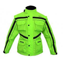Bunda na moto RSA Safety zelená výpredaj
