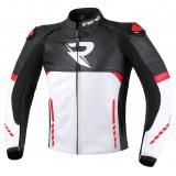 Bunda na motocykel Street Racer Bexter čierno-bielo-červená výpredaj