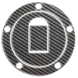 Carbonový polep víčka nádrže Print - Kawasaki (00-05)