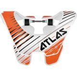 Chránič krčnej chrbtice Air Twister, ATLAS (biela / oranžová)