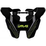 Chránič krčnej chrbtice Carbon Glow, ATLAS (čierna)
