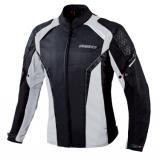 Dámska bunda na motocykel Ozone Edge II čierno-šedá