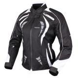 Dámska bunda na motocykel RSA Queen čierno-biela - II. akosť