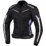 Dámska bunda na motocykel Street Racer Betty čierno-bielo-camo