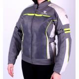Dámská bunda na motocykel Street Racer Graylow sivá výpredaj
