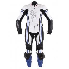 Dámske nohavice Tschul 554 bielo-čierno-modrá vypredaj
