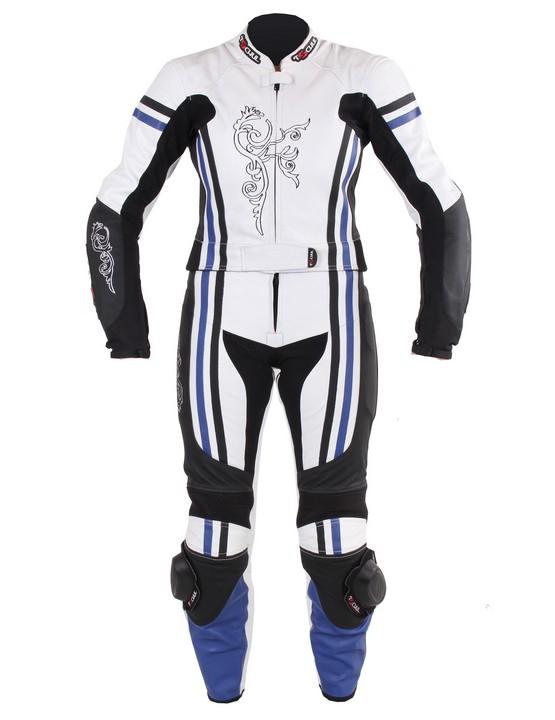 f808d4d2b8ba Dámske nohavice Tschul 554 bielo-čierno-modrá vypredaj Výpredaj