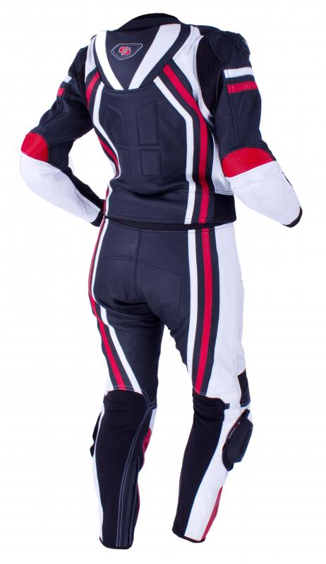 e3f6f933934d Dámska kombinéza Tschul 556 čierno-bielo-červená vypredaj