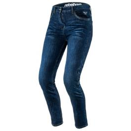 Dámske jeansy na motorku Rebelhorn Lisa Lady modré výpredaj