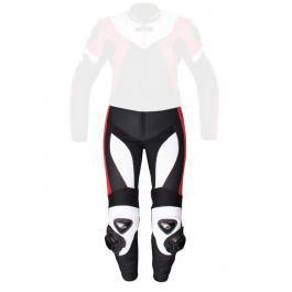 Dámske nohavice Tschul 736 čierno-bielo-červené výpredaj