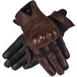 Dámske rukavice na motocykel Rebelhorn Thug II tmavo hnedé