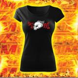 Dámske tričko s motívom Fast as Devil