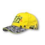 Detská šiltovka VR46 Valentino Rossi žlto-sivá
