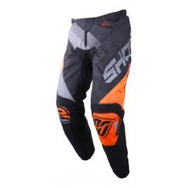 Detské motokrosové nohavice Shot DEVO Ultimate čierno-fluo oranžové výpredaj