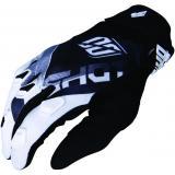 Detské motokrosové rukavice Shot DEVO Ultimate čierno-biele