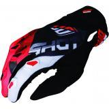 Detské motokrosové rukavice Shot DEVO Ultimate čierno-červené