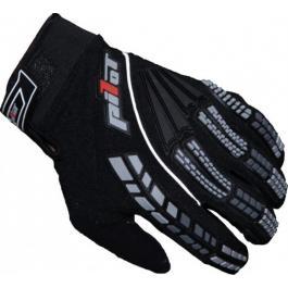 Dětské mx rukavice na motorku Pilot černé