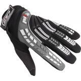 Dětské mx rukavice na motorku Pilot čierno-šedivé