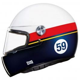 Integrálná prilba na moto Nexx X.G100R bielo-červeno-modrá výpredaj