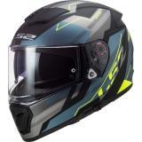 Integrálna prilba na motocykel LS2 FF390 Breaker Beta čierno-modro-fluo žltá