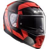 Integrálna prilba na motocykel LS2 FF390 Breaker Physics čierno-červená