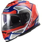 Integrálna prilba na motocykel LS2 FF800 Storm Faster červeno-modrá