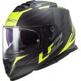Integrálna prilba na motocykel LS2 FF800 Storm Nerve čierno-fluo žltá