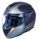 Integrálna prilba na motorku MT Rapide Revival čierna matná - II. akosť