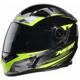 Integrálna prilba na motorku NOX N917 Side čierno-fluo žltá-camo výpredaj