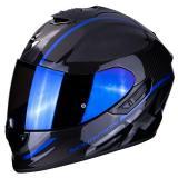 Integrálna prilba Scorpion EXO-1400 Carbon Air Grand čierno-modrá