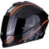 Integrálna prilba Scorpion EXO-1400 Carbon Air Grand čierno-oranžová