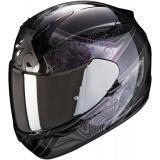 Integrálna prilba Scorpion EXO-390 Clara čierno-strieborná