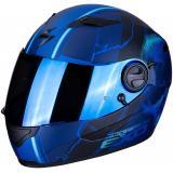 Integrálna prilba Scorpion EXO-490 Dar čierno-modrá