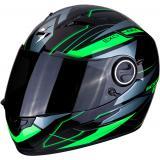 Integrálna prilba Scorpion EXO-490 Nova čierno-zelená