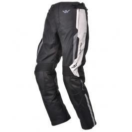 Nohavice na moto Ayrton Hunter čierno-sivá vypredaj