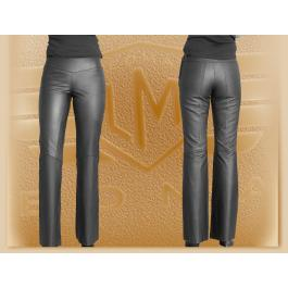 Kožené bedrové moto nohavice Klasik - dámske výpredaj